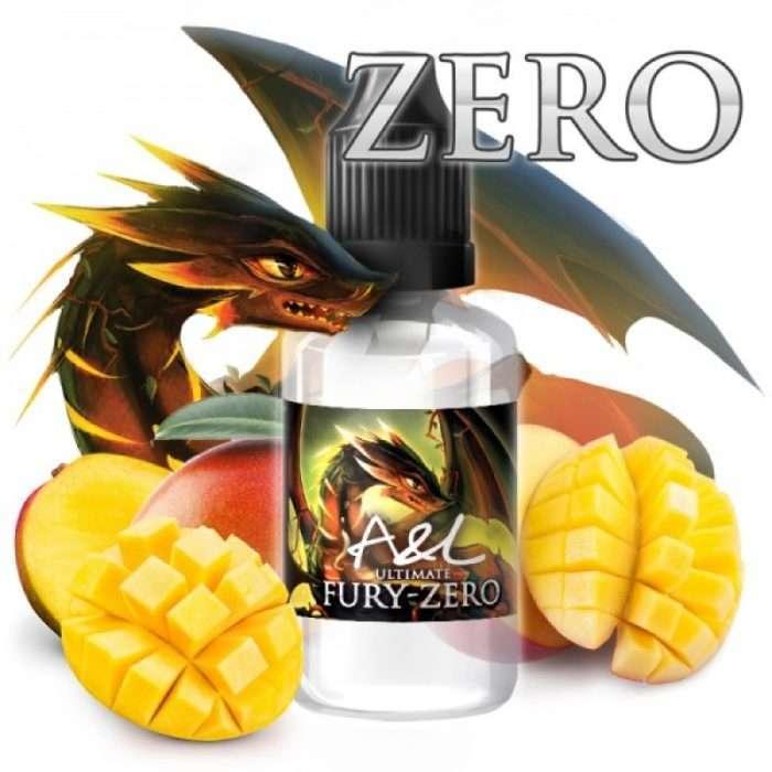 a&l fury zero aroma concentrado 30ml