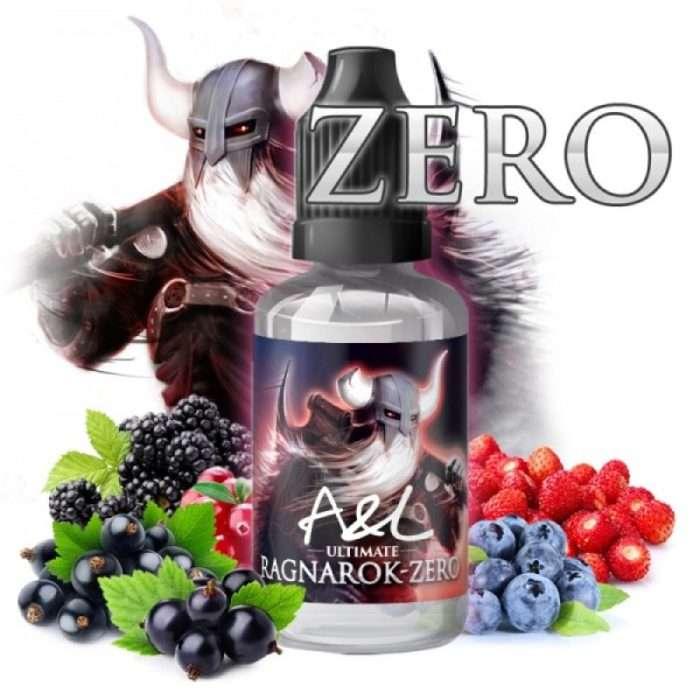 ragnarok zero aroma concentrado 30ml