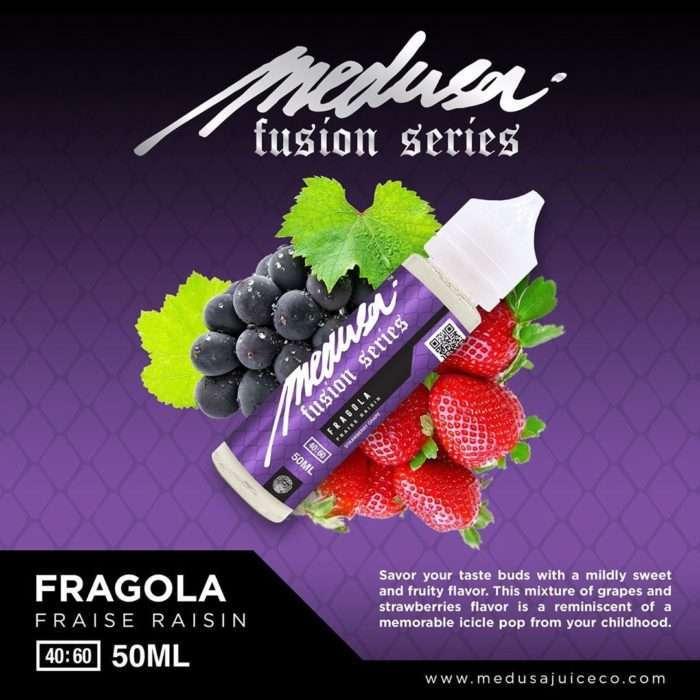 medusa fusion series fragola