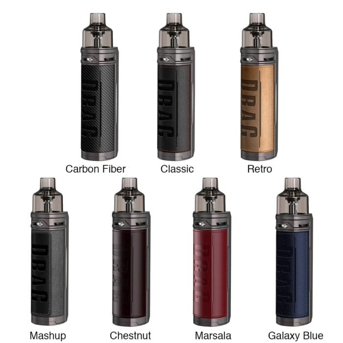VOOPOO-DRAG-X-18650-Mod-Pod-Kit_todas as cores